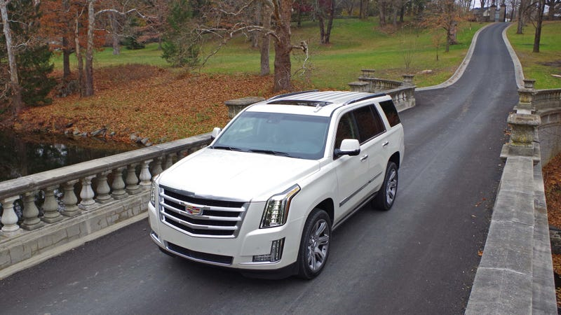 Illustration for article titled Next-Gen Cadillac Escalade to Get V Performance Model and Go Electric: Report