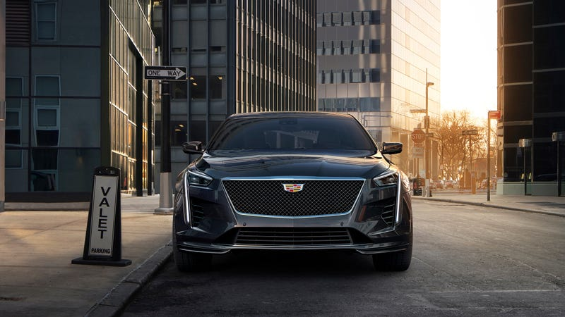 Illustration for article titled I Am Unduly Excited For The 2019 Cadillac CT6 V-Sport