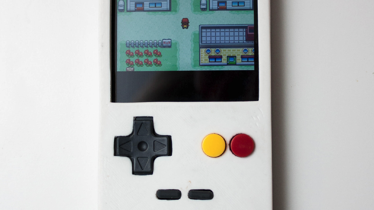 3D Printed Case Makes Your Smartphone More Like A Game Boy