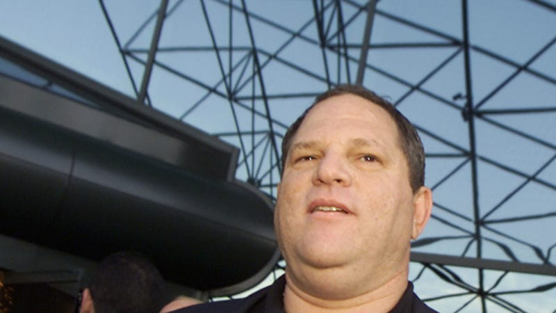 Weinstein in 2001 three years after he is alleged to have assaulted an assistant with whom he later settled. Image via Getty