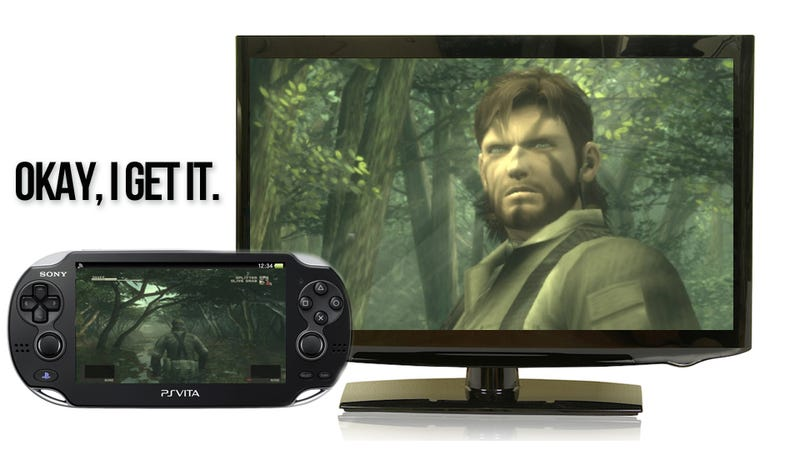 Illustration for article titled With Metal Gear's Splendid Vita Version, I Finally 'Get' Portable Console Gaming