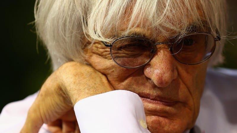 Illustration for article titled King Of F1 Bernie Ecclestone Steps Down Over $45 Mill Bribery Trial