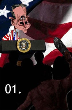 Illustration for article titled Shoe-Throwing, Anti-Bush Game Barred From iPhone Store