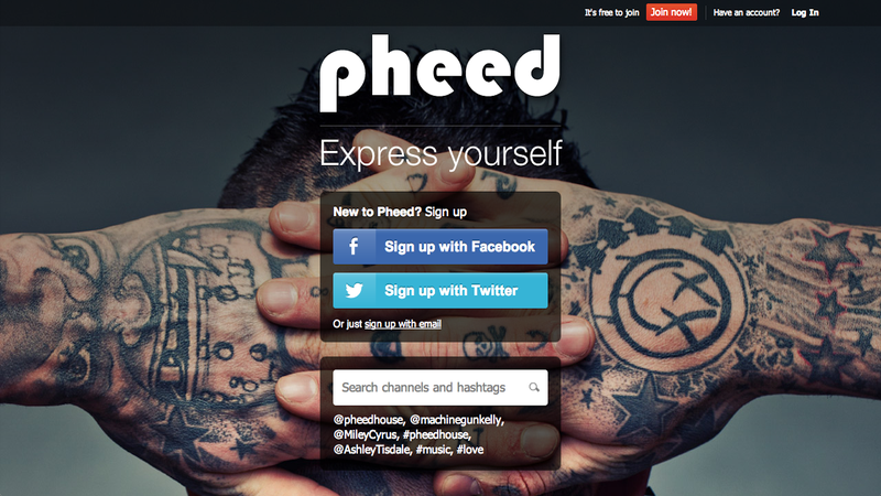 Illustration for article titled What Is Pheed?