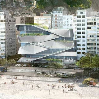 Illustration for article titled Museum of Image and Sound to Stand as Rio de Janeiro's Next Beachside Attraction