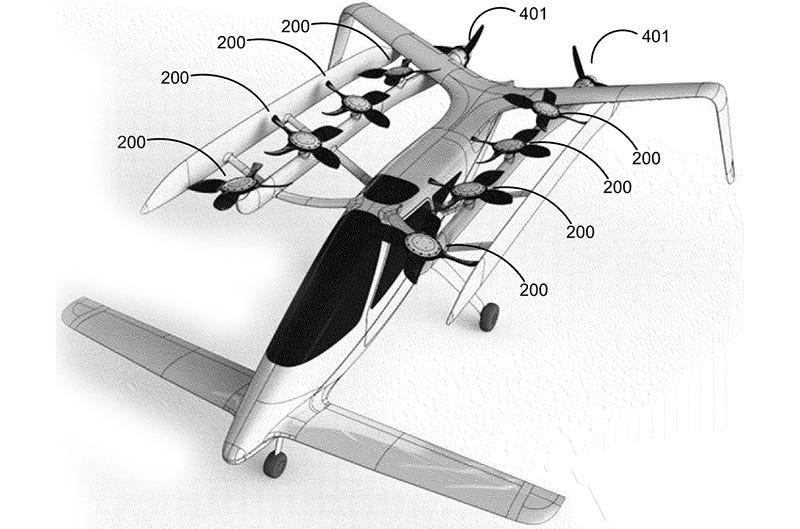 Illustration for article titled Zee Aero, el nuevo coche volador que están probando junto a Google