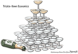 Illustration for article titled Trickle Down Economics