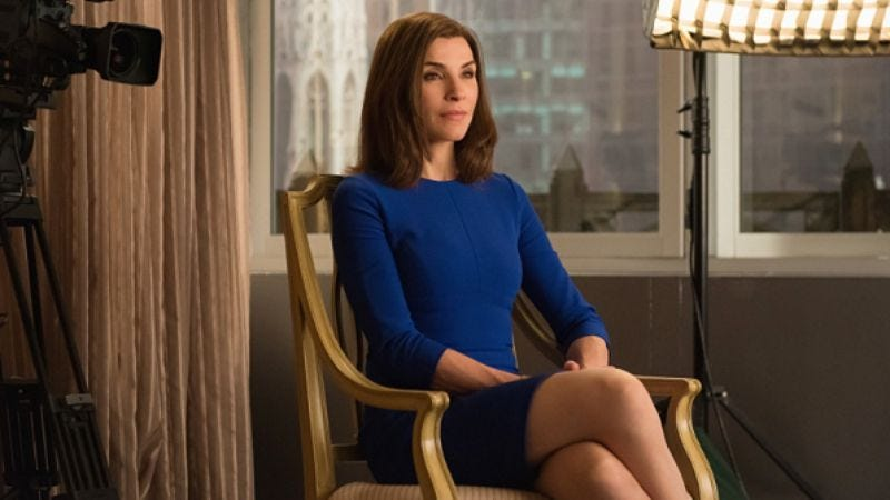 """Illustration for article titled The Good Wife: """"Loser Edit"""""""