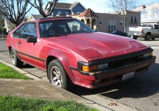 1985 toyota supra when you start the week with an old datsun why not end it with an old toyota somehow though the mid 80s supra doesnt feel all that old in spite of its sciox Gallery