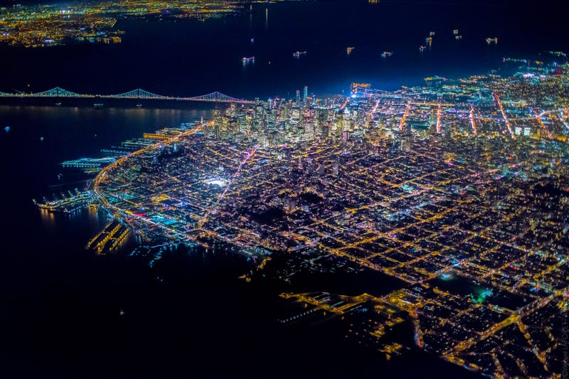 Illustration for article titled These incredible aerial views of San Francisco are just jaw dropping