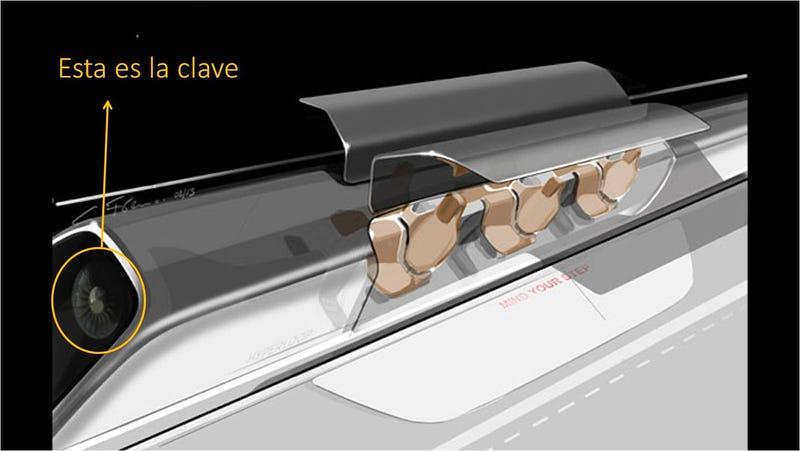 Illustration for article titled Esta es la innovación clave que hace Hyperloop viable