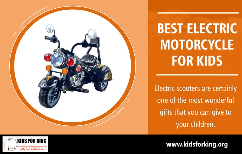 Illustration for article titled Best Electric Motorcycle for Kids | kidsforking.org