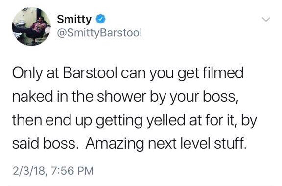 Beach Nude Group Shower - Barstool Employee Unhappy About Being Filmed In The Shower ...
