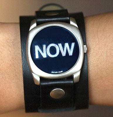 now watch is always right