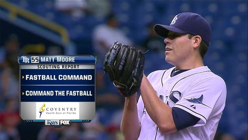 Illustration for article titled This Sun Sports Scouting Report On Rays Pitcher Matt Moore Is Just So Informative