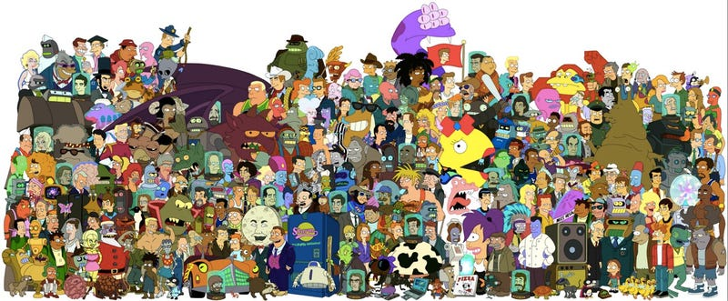 Illustration for article titled Comedy Central cancels Futurama