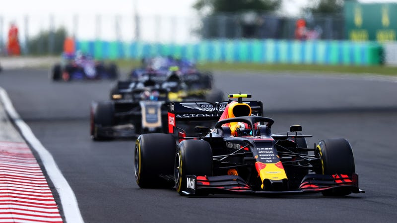 Pierre Gasly at the Hungarian Grand Prix.