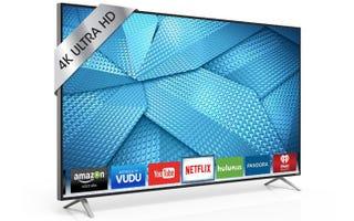 Los nuevos televisores 4K de Vizio son ridículamente baratos