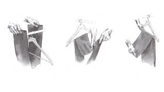 Illustration for article titled The Savile Row Fold Keeps Your Pants From Falling Off the Hanger