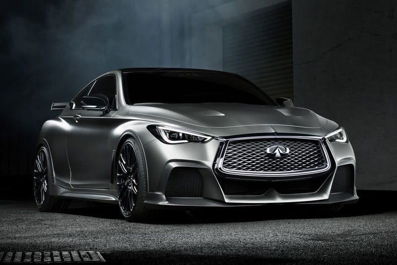 New Infiniti G35 Coupe >> The Infiniti Q60 Black S Concept Is A Nasty 500 HP Hybrid With F1-Style KERS