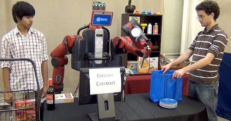 Illustration for article titled Científicos enseñan a un robot a manejar adecuadamente un cuchillo