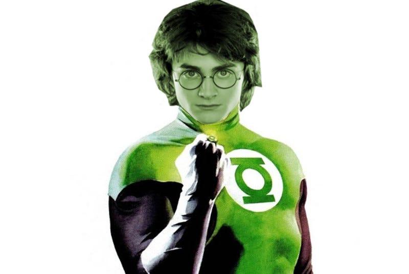 Warner Bros : Shut Up & Make My Harry Potter/Green Lantern
