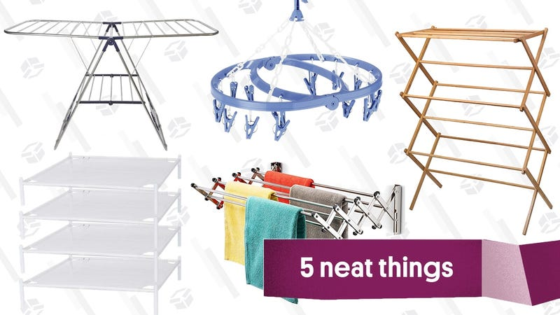 Illustration for article titled Five Types of Laundry Drying Racks, And Why You Should Use Them