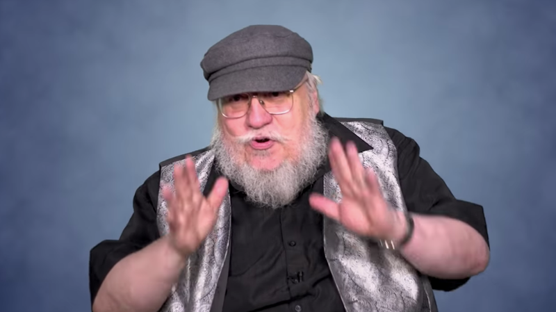 Illustration for article titled George R.R. Martin takes time off from not writing his book to laud New York pizza