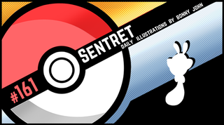 Illustration for article titled Sentret Says Stop!  Pokemon One a Day, Series 2!