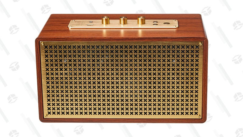 AmazonBasics Vintage/Retro Bluetooth Speaker | $81 | Amazon
