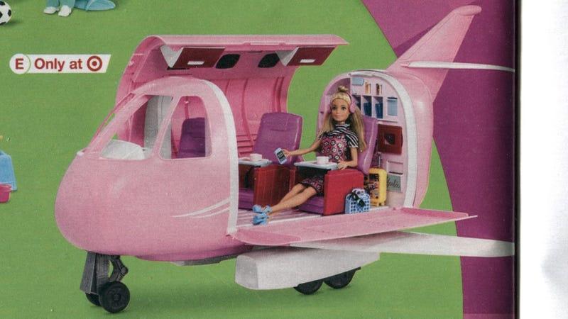 Illustration for article titled Pink Passport Glamour Jet