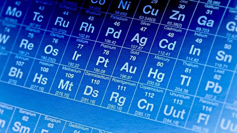 Illustration for article titled Es oficial: cuatro nuevos elementos completan la séptima fila de la tabla periódica
