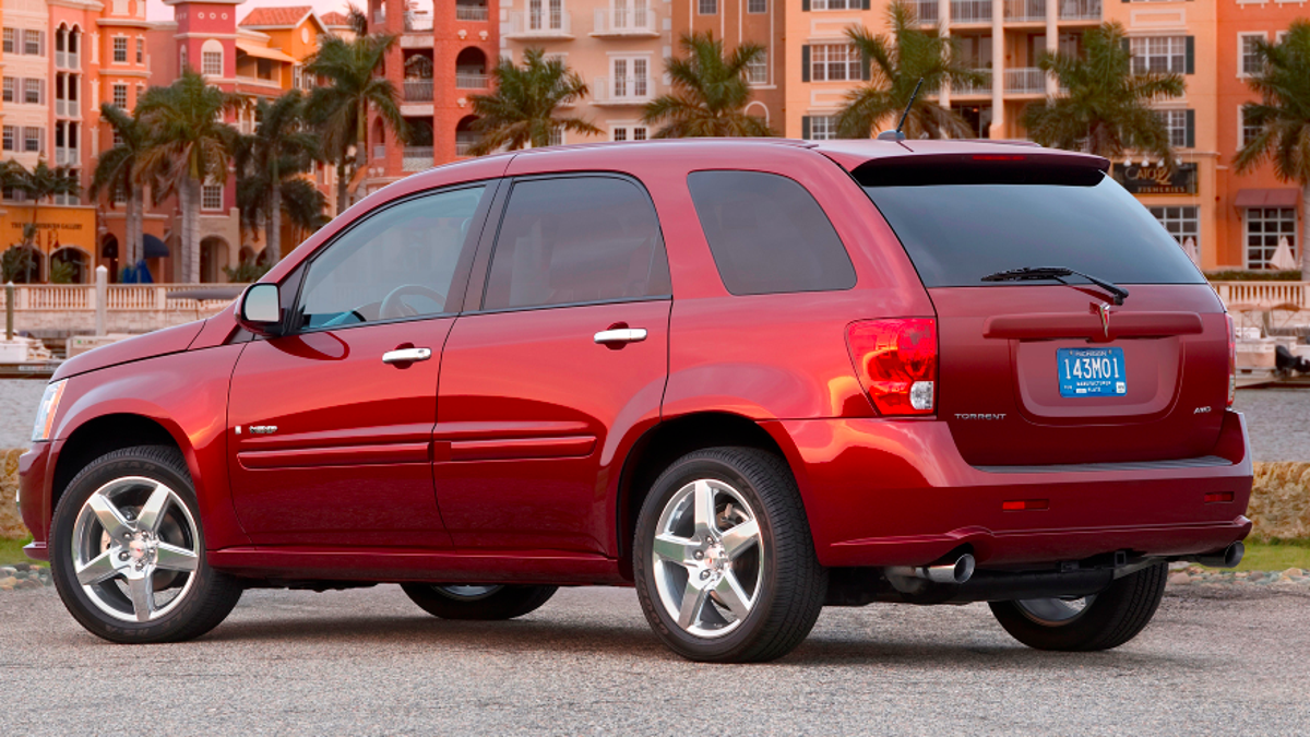 I have always had a deep respect for the pontiac torrent and i don.