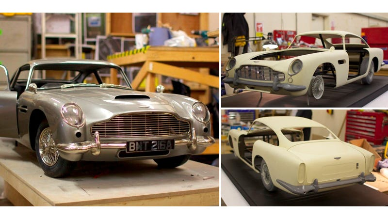 Illustration for article titled Skyfall Filmmakers 3D-Printed This Rare Aston Martin So They Wouldn't Damage the Original