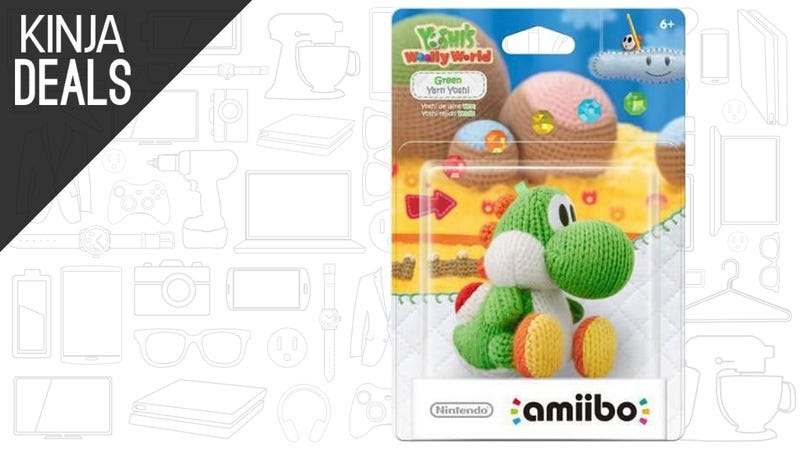 Illustration for article titled You Can Now Buy the Green Yarn Yoshi Amiibo Separately, While It Lasts