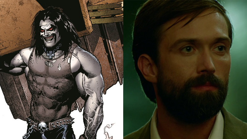 The Main Man Lobo, and Scanlan as he appeared in Constantine.