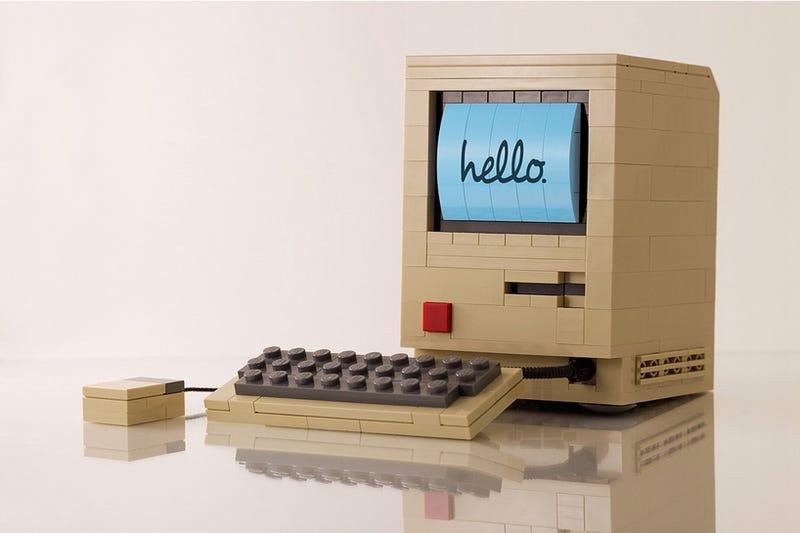Illustration for article titled Imposible crear una réplica más adorable del primer Macintosh