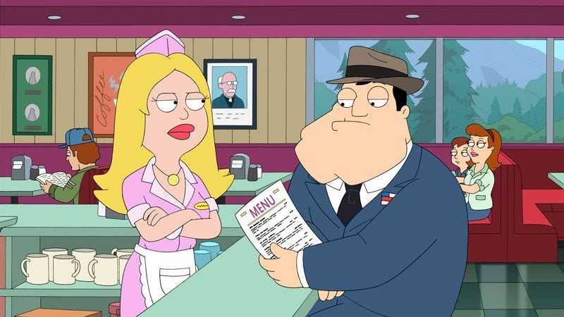 f07320e7 Illustration for article titled Just a heads-up: American Dad is on tonight