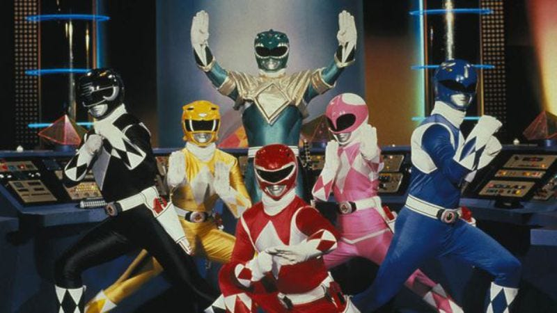 Illustration for article titled The new Power Rangers movie has a release date