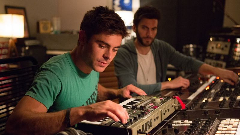 Efron not being boisterous enough in We Are Your Friends