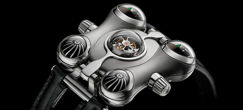 Illustration for article titled Of Course This Six-Figure Watch Was Inspired By a Space Captain Cartoon