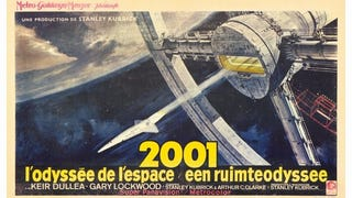 Just watched 2001: Odyssey in Space on the big cinema screen here: