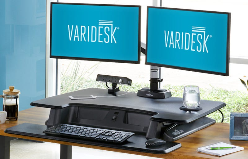 Illustration for article titled Varidesk Goes Electric Part 2: Pro Plus 36 Electric