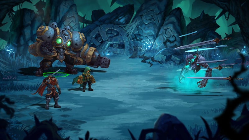 Illustration for article titled Battle Chasers Works Much Better As A Video Game Than A Comic Book