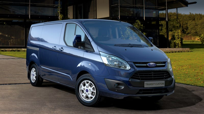 Illustration for article titled Ford's New European Transit Van That We Should Have Here