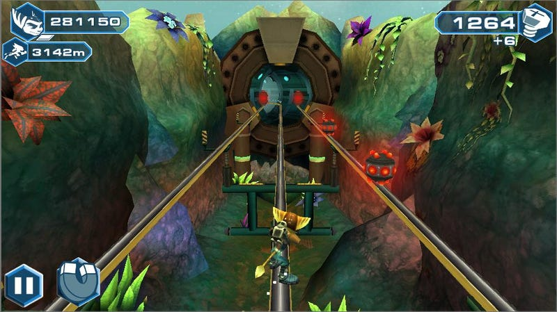 Illustration for article titled There's a Ratchet & Clank Endless Runner for Mobile. Huh.