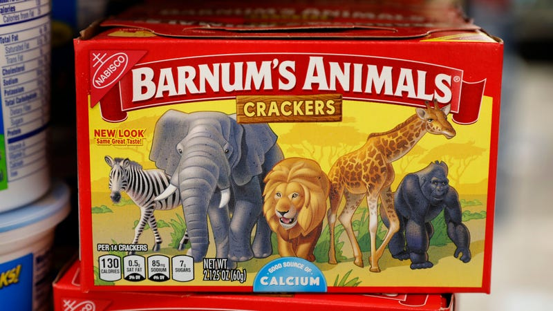 Animals roaming wild and free across an African grassland before they're eaten by a six-year-old at recess.