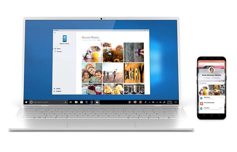 Transferir archivos de tu móvil a un PC con Windows 10 es más fácil que nunca con la nueva app oficial