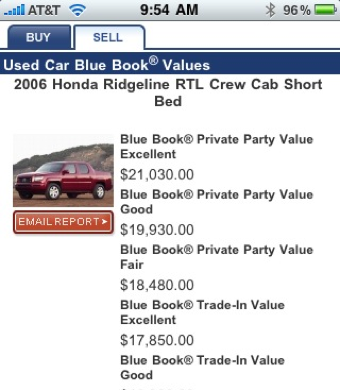 Illustration for article titled How Kelly Blue Book Online and a Cellphone Earned an Extra $1k on a Trade-In