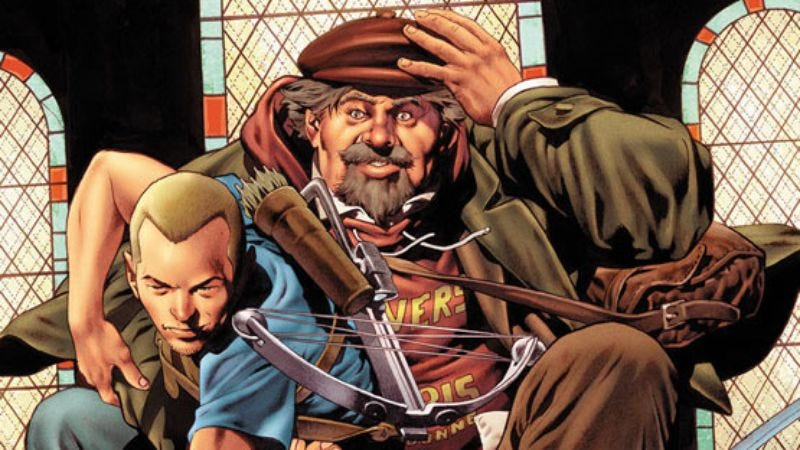 Illustration for article titled Comic book series Archer & Armstrong is getting a movie